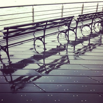 Taken with Instagram at Pier 26 — Hudson River Park