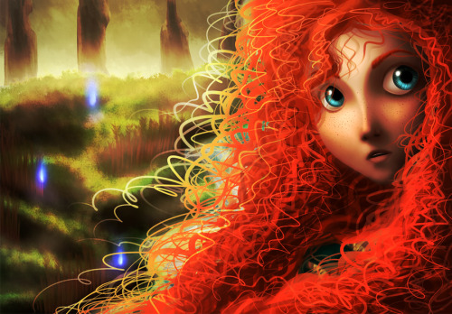 samaralex:  Brave - Merida by AngelLust155