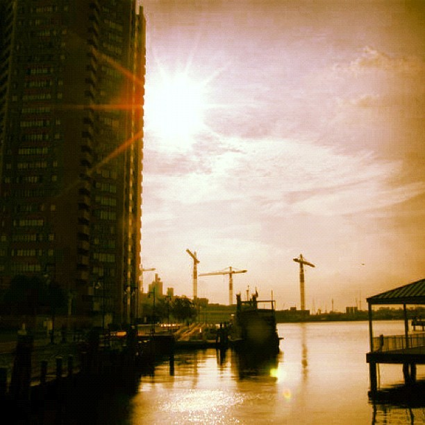 Dwell well. #portsmouth #sun #ferry #757  (Taken with Instagram)