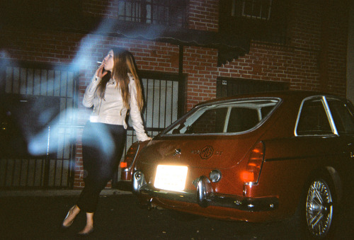 laurenlemon:  I just got a bunch of film developed & scanned (a bunch, like months and months worth), which is a bad thing to do right before you go on a photo vacation. I'm going to come back with even MORE film that I'll put off processing for too long.  That being said, here's one of Diana when she was in town for her birthday.  Los Angeles, CA - February 2012 ©Lauren Randolph