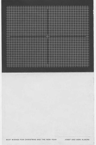 Albers, Josef Project : Christmas card, 1953