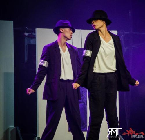 Keone and Mari during Choreo Cookies' Body Rock 2012 performance