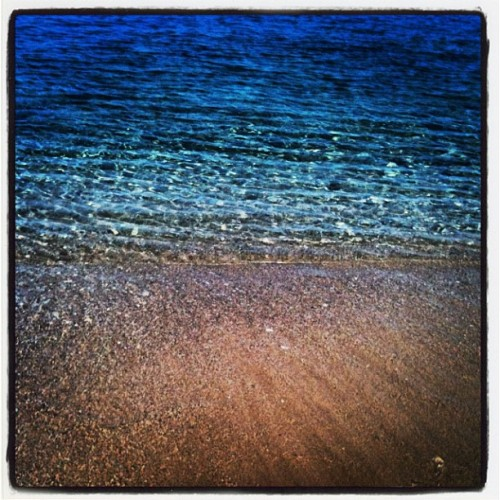 #summer #greece #sea #sand #beach #legraina (Taken with Instagram)
