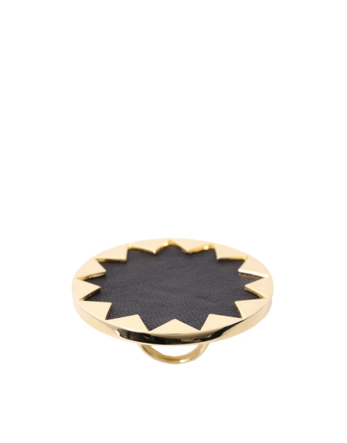 House Of Harlow 1960 14ct Yellow Gold Plated Sunburst Cocktail RingMore photos & another fashion brands: bit.ly/JhFBkT