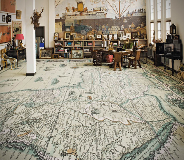 theabsolution:  World Map Carpets by Area Pavimenti
