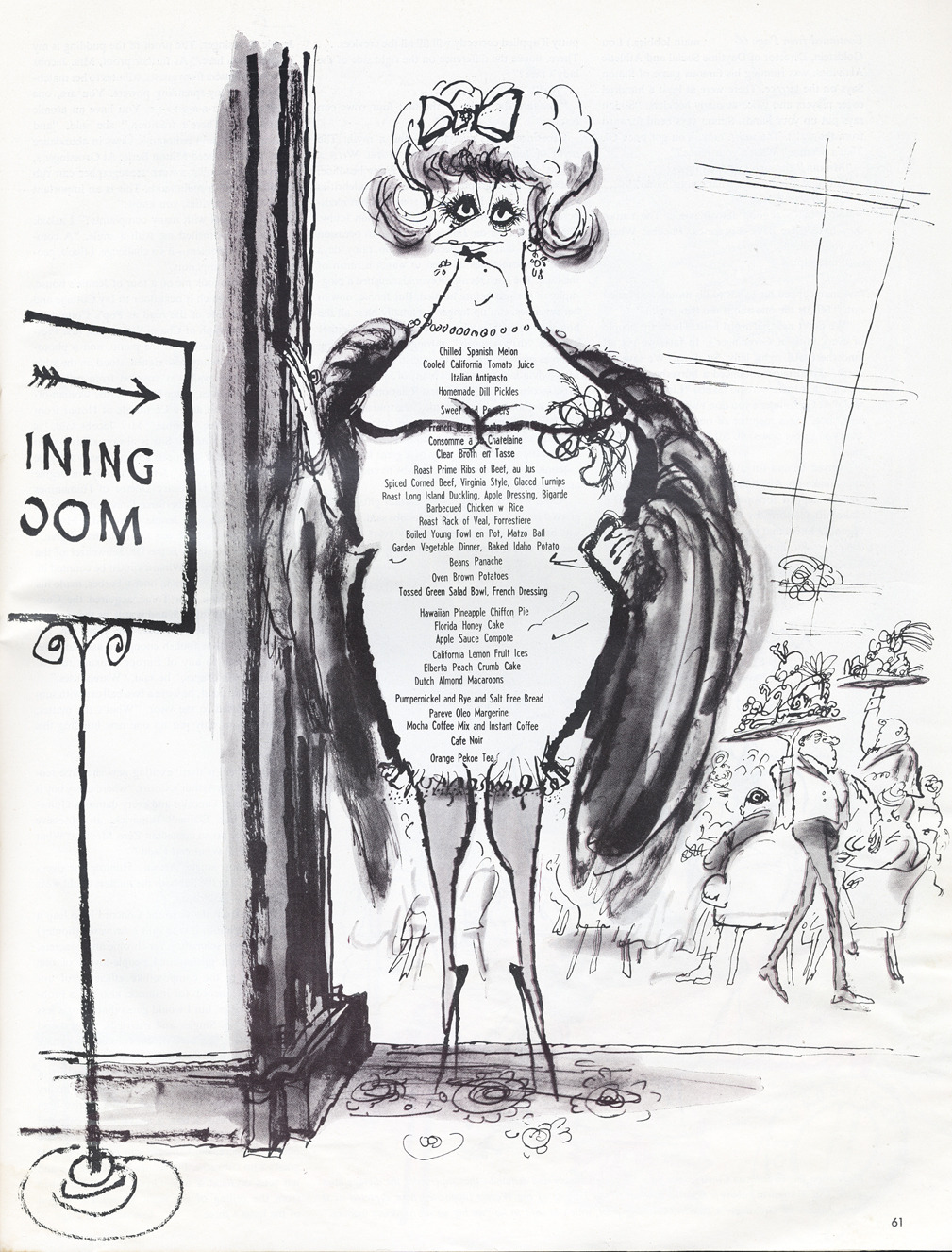 cartoonretro:  Ronald Searle