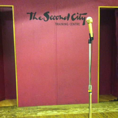At Second City Training Centre (Taken with Instagram)