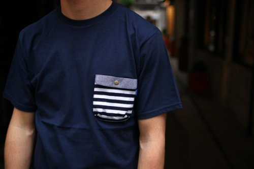 Border Chief Pocket Tee by Tantum - $50