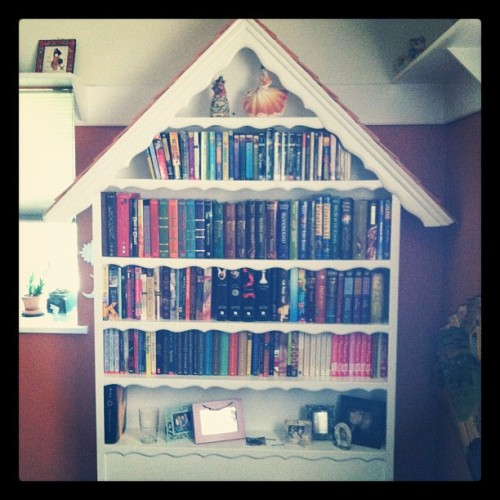 Best. Bookshelf. Ever. (Taken with Instagram)
