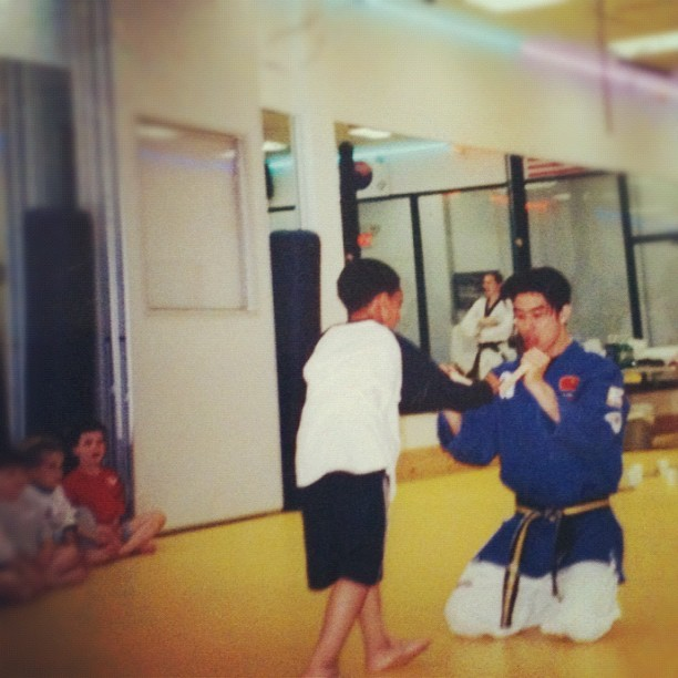 Real Life sensei (Taken with Instagram)
