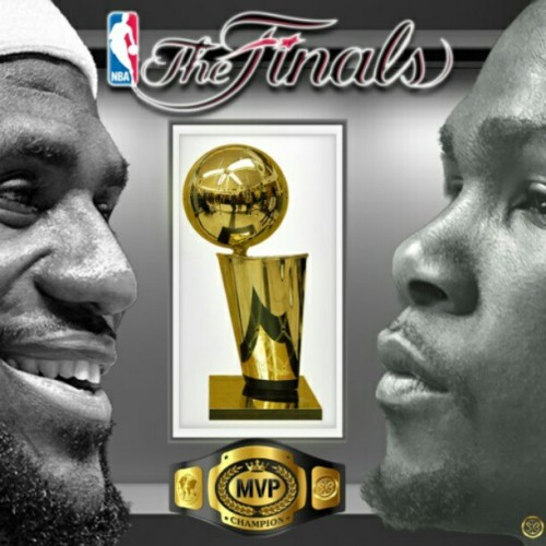 who's got it? #nbafinals (Taken with Instagram)