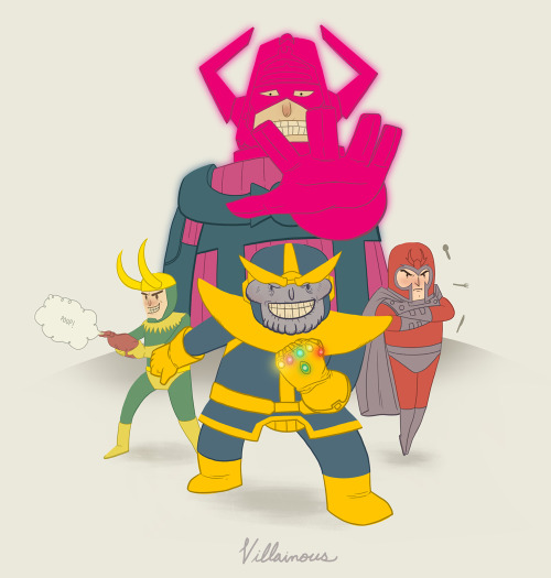 illuskrate:  Villainous!