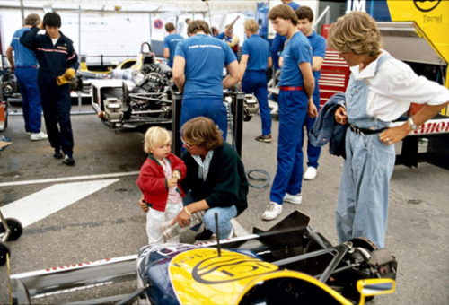 yourgolden:  Nico and Keke Rosberg