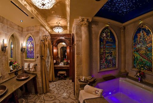 Cinderella's Castle Bathroom Source: Bricker85 at Reddit.com