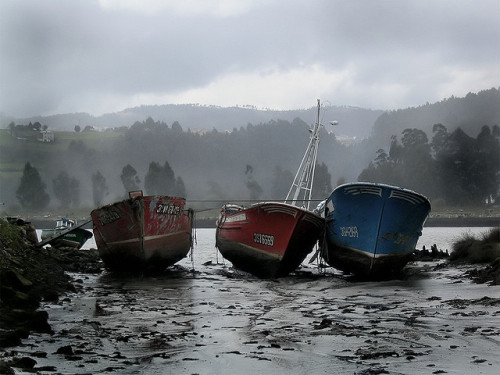Cementerio de barcos  [Soto del Barco, Asturias, España] by Javi Roces on Flickr.