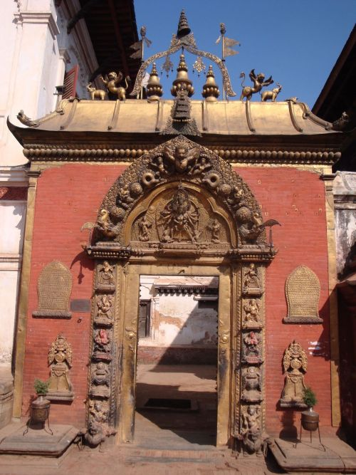 Gateway of deities…Kali on the top of the arch…kathmandu, Nepal Source: (Zacapatista 2010)