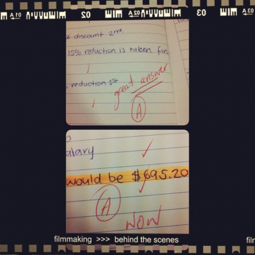 Maths — Yeah that's right!! #school #maths #a! (Taken with Instagram)