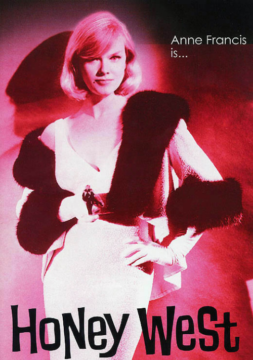 Anne Francis as 'Honey West' (1965-1966)