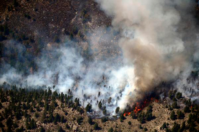 "When it comes to wildfire, there's a big difference between ""containment"" and ""control"" ""This fire … we got a mess. It's so doggone big,"" said Bill Hahnenberg, the Type 1 Incident Commander assigned to the High Park fire burning west of Fort Collins, Colorado. He explained the difference between containing a fire and having it under control to Denver Post reporter Jeremy Meyer in an interview this afternoon."