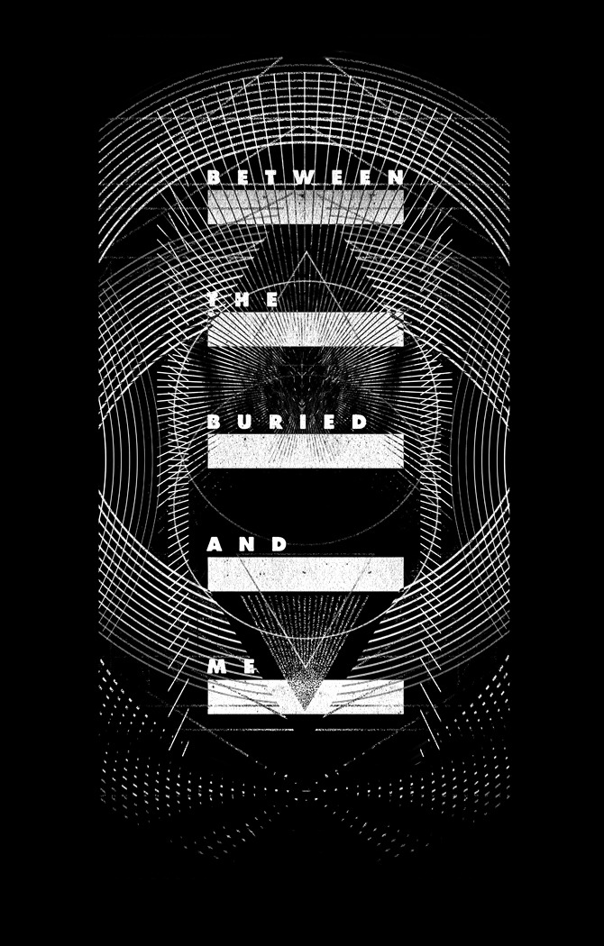 Shift designed for Between The Buried And Me that will be available on their upcoming tour.