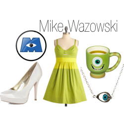 Monster's Inc. - Mike Wazowski