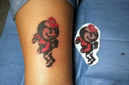 Brutus tattoo. I love it!