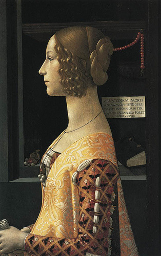 Portrait of Giovanna Tornabuoni Domenico Ghirlandaio