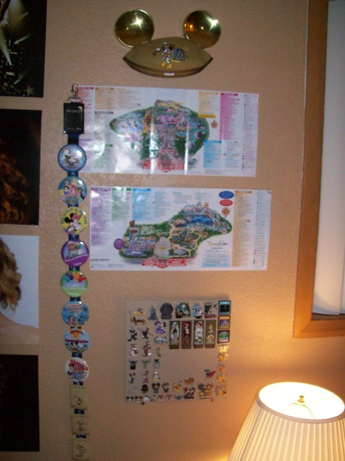 tj4eck:  My Disneyland/California Adventure Shrine