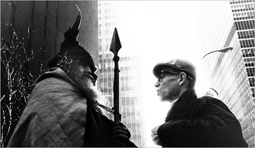 Moondog in NY in the '60s.