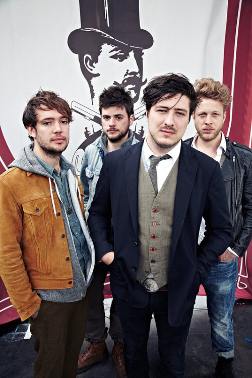 Mumford & Sons cover shoot for the June 16, 2012 issue of NME magazine. Click here to read the entire feature. Photo © Andrew Whitton.