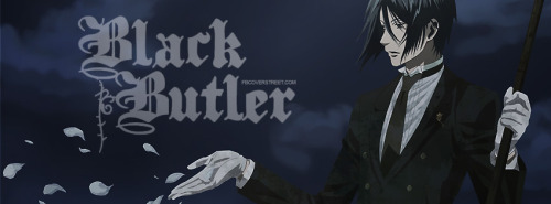 Black Butler Facebook Covers