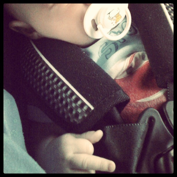 Our host family has one #badass #baby (Taken with Instagram)