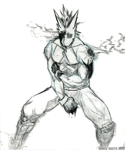 ubershark:  More Powersurge, used reference for the pose.