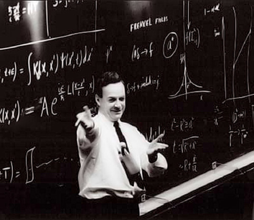 justatoms:  Richard Feynman