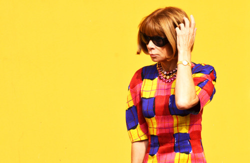 Anna Wintour in Marni.
