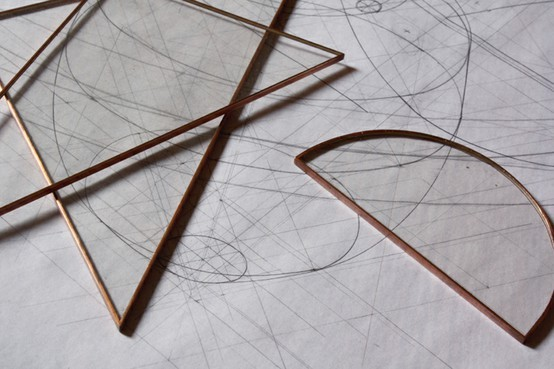 lylaandblu:  Jennifer Tran copper drafting set