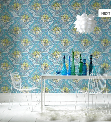 Retro Modern Wallpaper Delight by Design Collector on Flickr.
