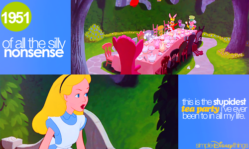 simpledisneythings:  Alice in Wonderland (1951)