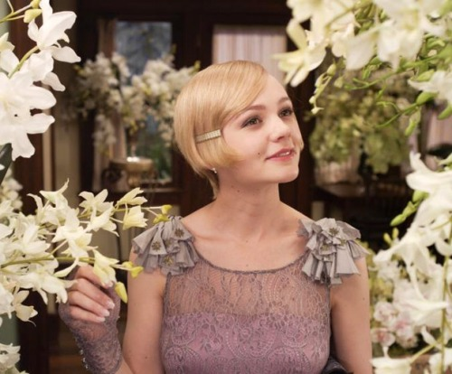 Carey Mulligan as Daisy in Baz Luhrmann's forthcoming adaptation ofThe Great Gatsby, which hits theaters at Christmastime. (Image via Fashionising)