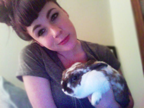 In case anyone forgot how much I loved my bunny.