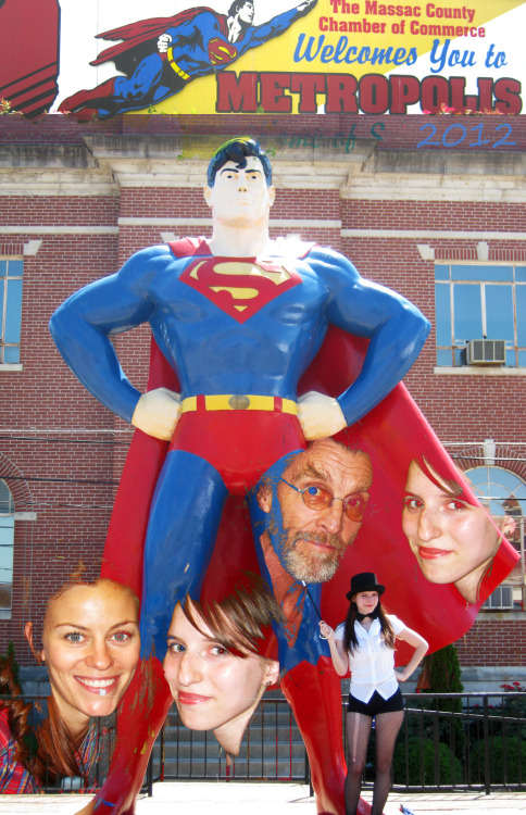 Metropolis for the Superman Celebration :D Met Cassidy Freeman and John Glover <33333
