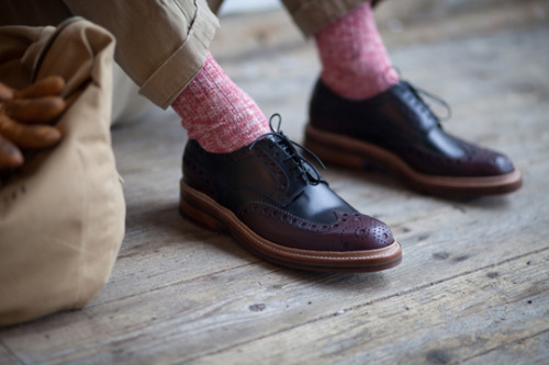 tetinotete:  Grenson for Heritage Research A/W 2012 Footwear