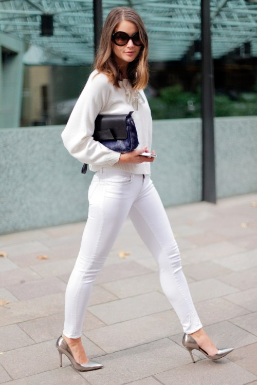 Bougie all-white outfit ideas