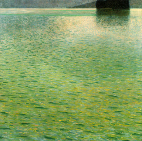 Gustav Klimt - Island on the Attersee