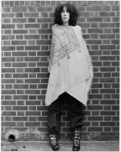 Patti Smith by Robert Mapplethorpe, 1978.