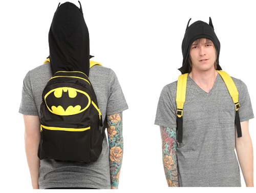 Where can you get this Batman backpack/hood?HERE