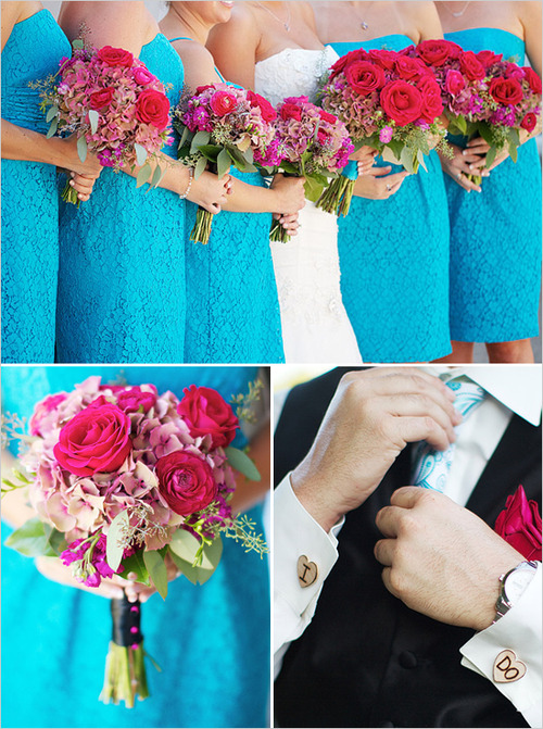 Pink and Teal Inspiration