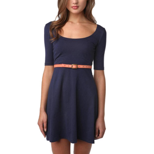 Love this dress- Sparkle and Fade Knit Swing Dress