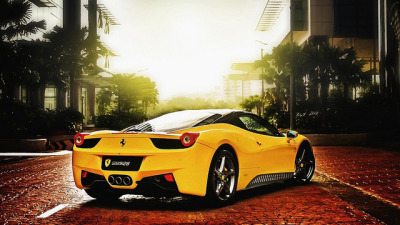 Ferrari-cars-of-yellow-color_1366x768 by Lucas NA on Flickr.