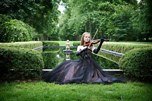 In my free time I enjoy playing the violin alone in a ball gown on sprawling estates.